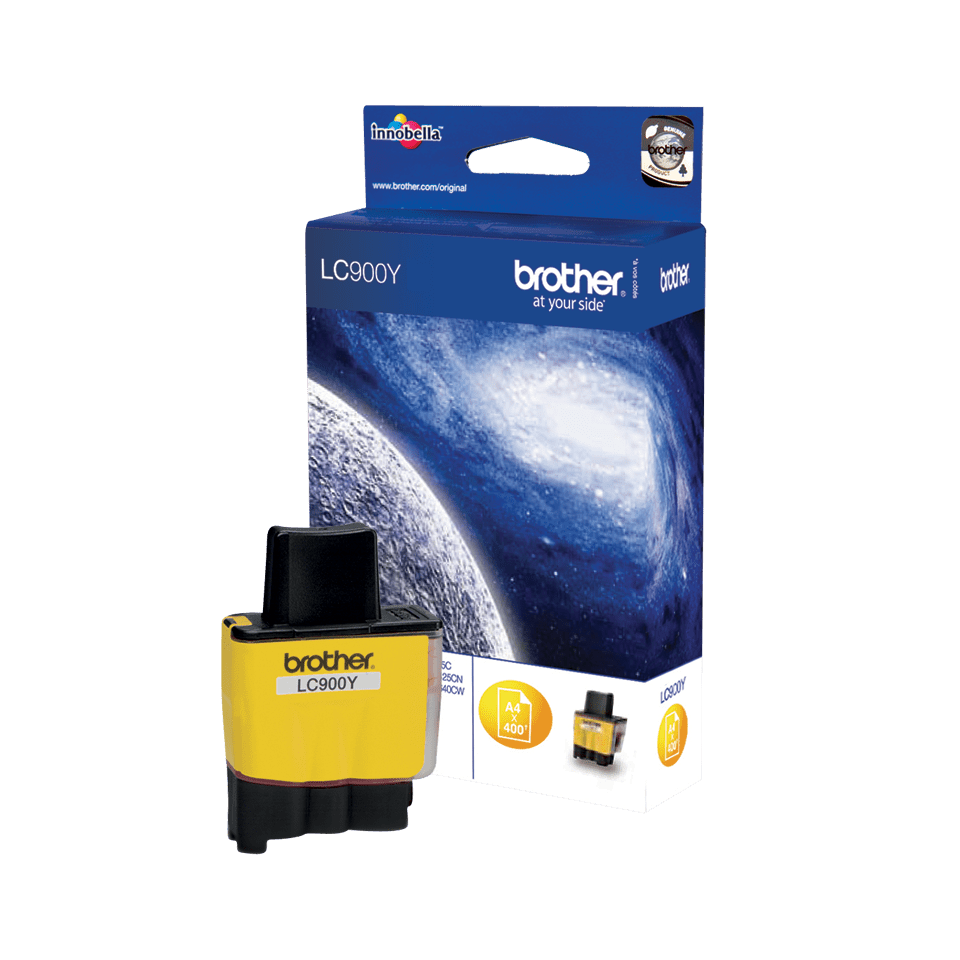 Cartouche d'encre LC900Y Brother originale – Jaune 2