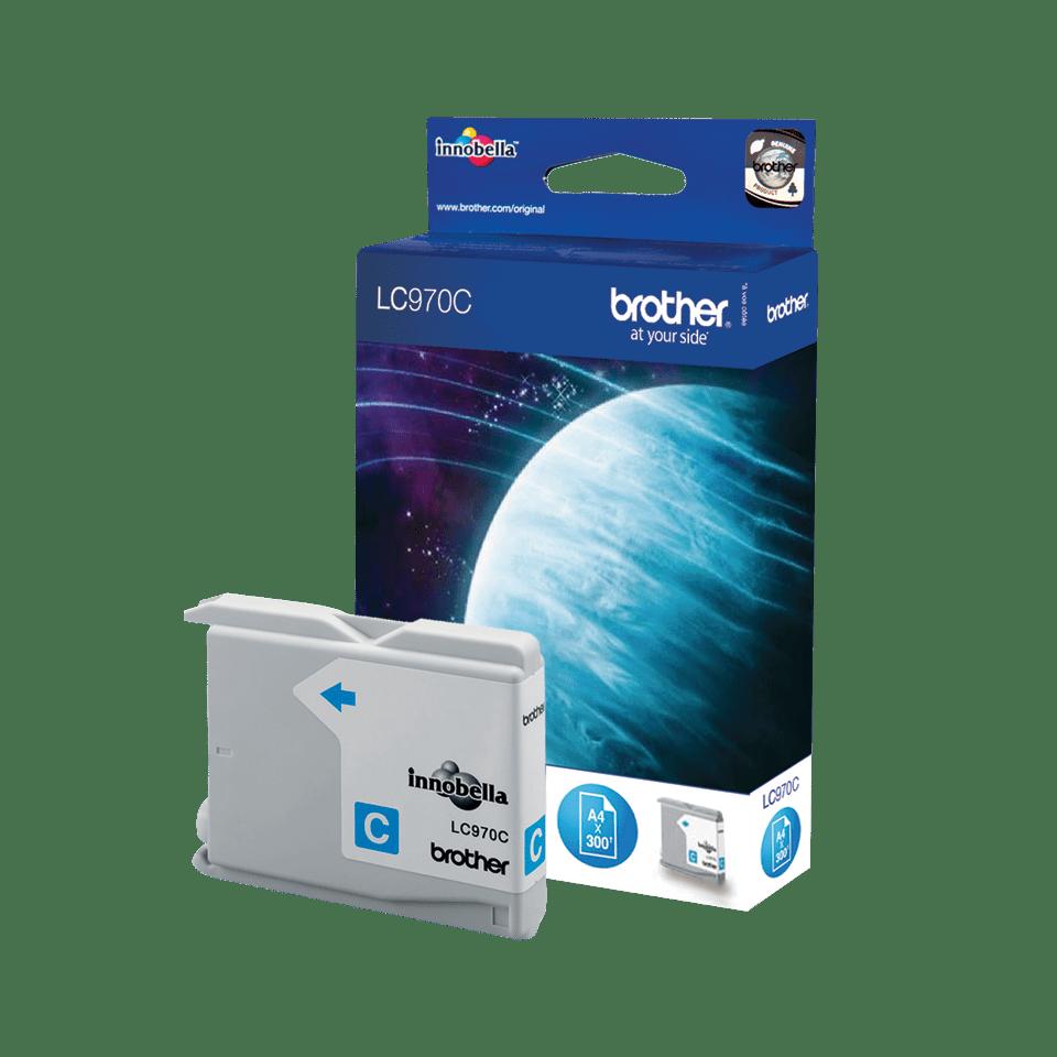 Original LC-970C Tintenpatrone von Brother – Cyan