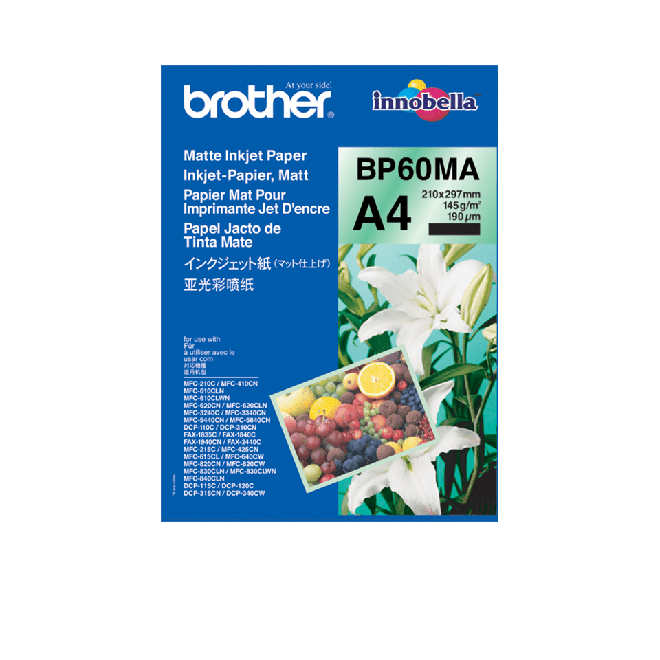 Original BP-60MA Inkjet Papier matt A4 von Brother