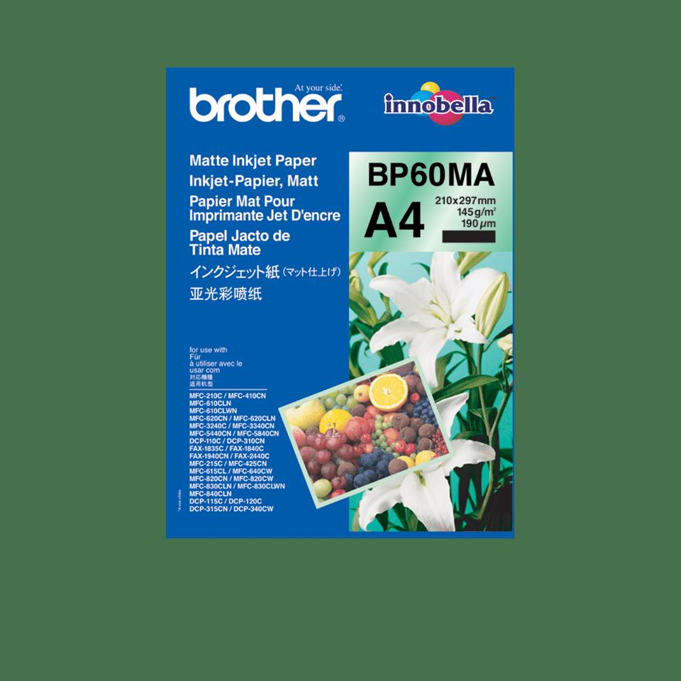 Original BP-60MA Inkjet Papier matt A4 von Brother