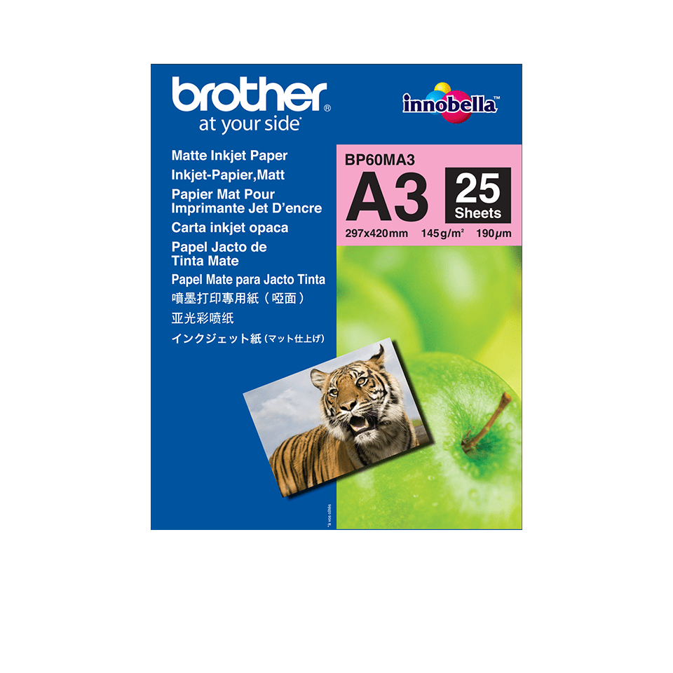 Original BP-60MA3 Inkjet Papier matt A3 von Brother