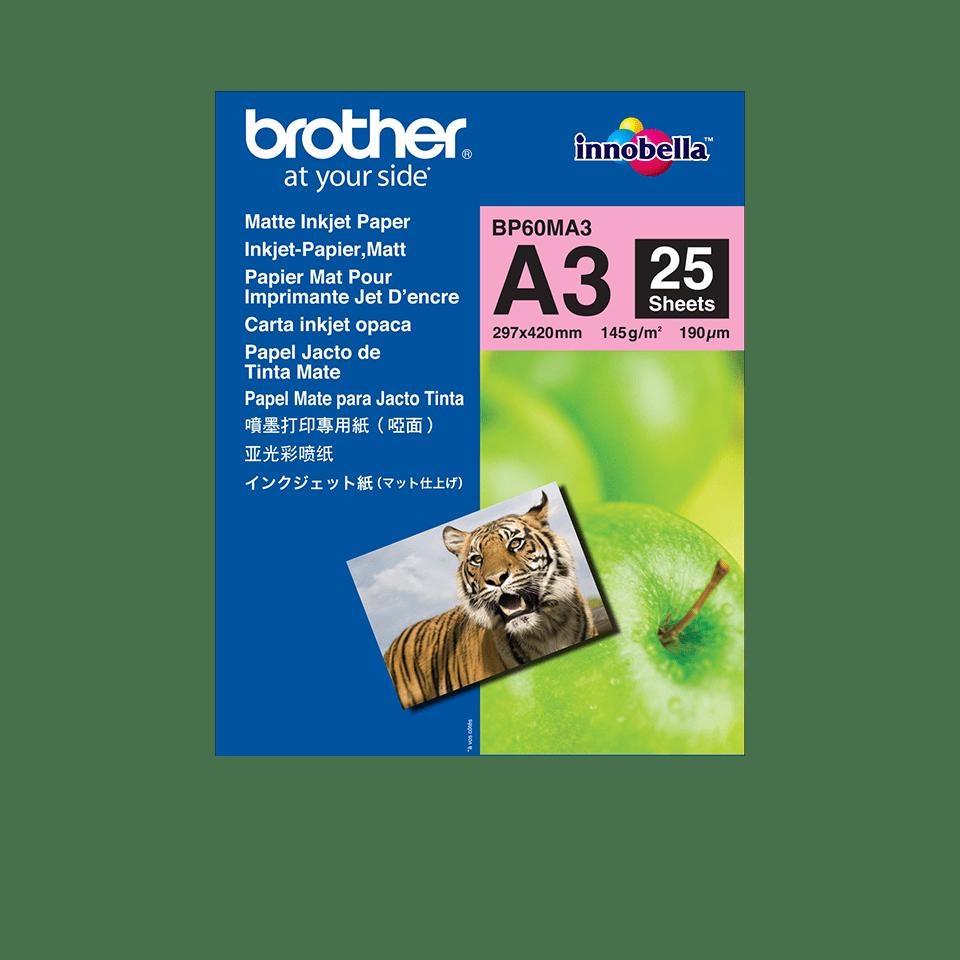 Original BP-60MA3 Inkjet Papier matt A3 von Brother