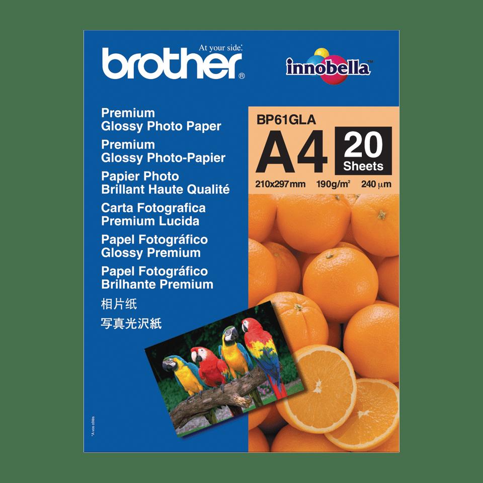 Original BP-61GLA DIN A4 Glanzpapier von Brother
