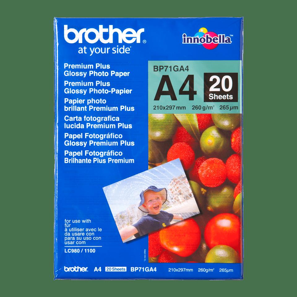 Original BP-71GA4 DIN A4 Glanzpapier von Brother
