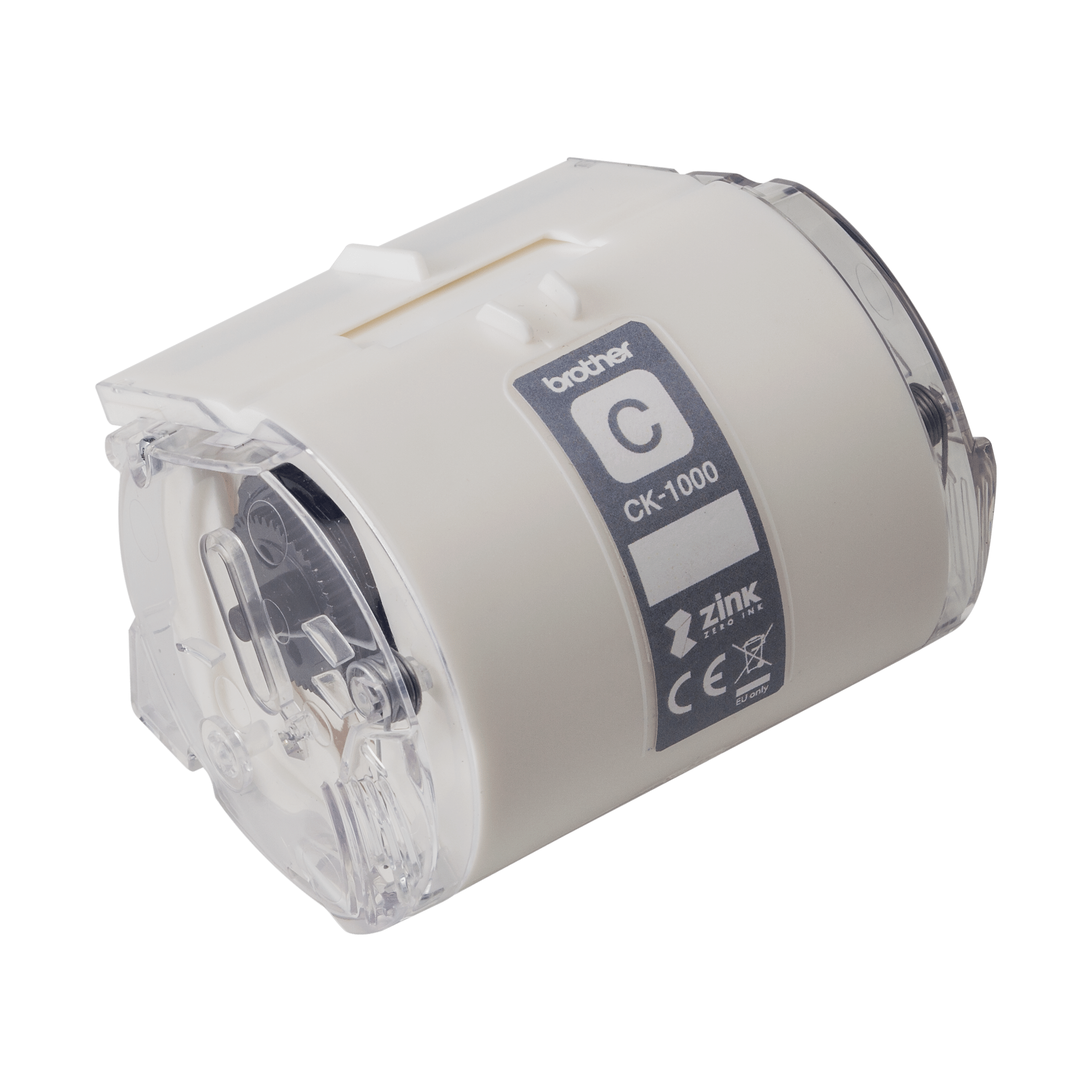 Ruban de nettoyage de tête d'impression Brother CK-1000 d'origine, 50 mm de large