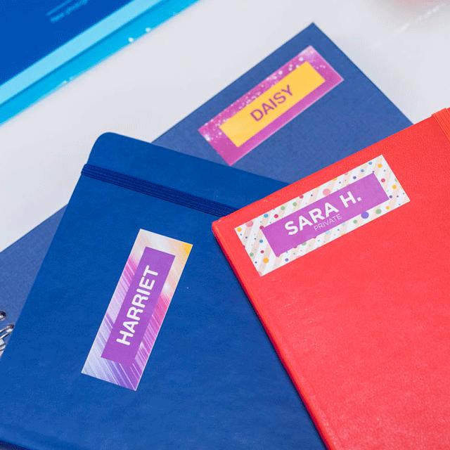 Rouleau continu d'étiquettes pleine couleur Brother CZ-1001 d'origine, 9 mm de large 15