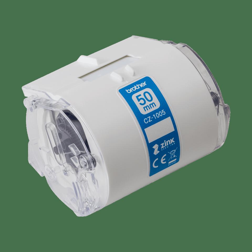 Original Brother CZ-1005 Farb-Endlosetikettenrolle – 50 mm breit