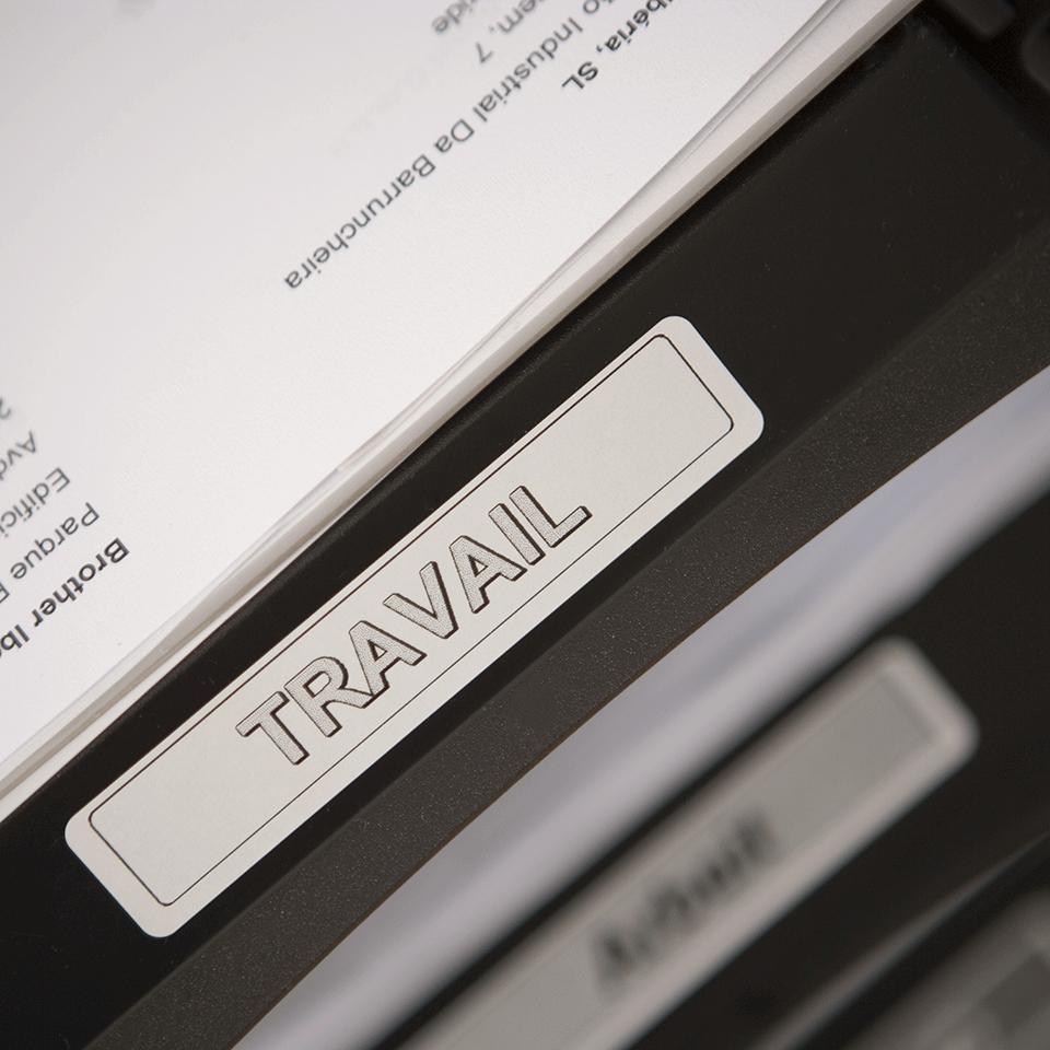 Original DK-11204 Mehrzwecketikettenrolle von Brother – Schwarz auf Weiß, Papier, 17×54mm 2