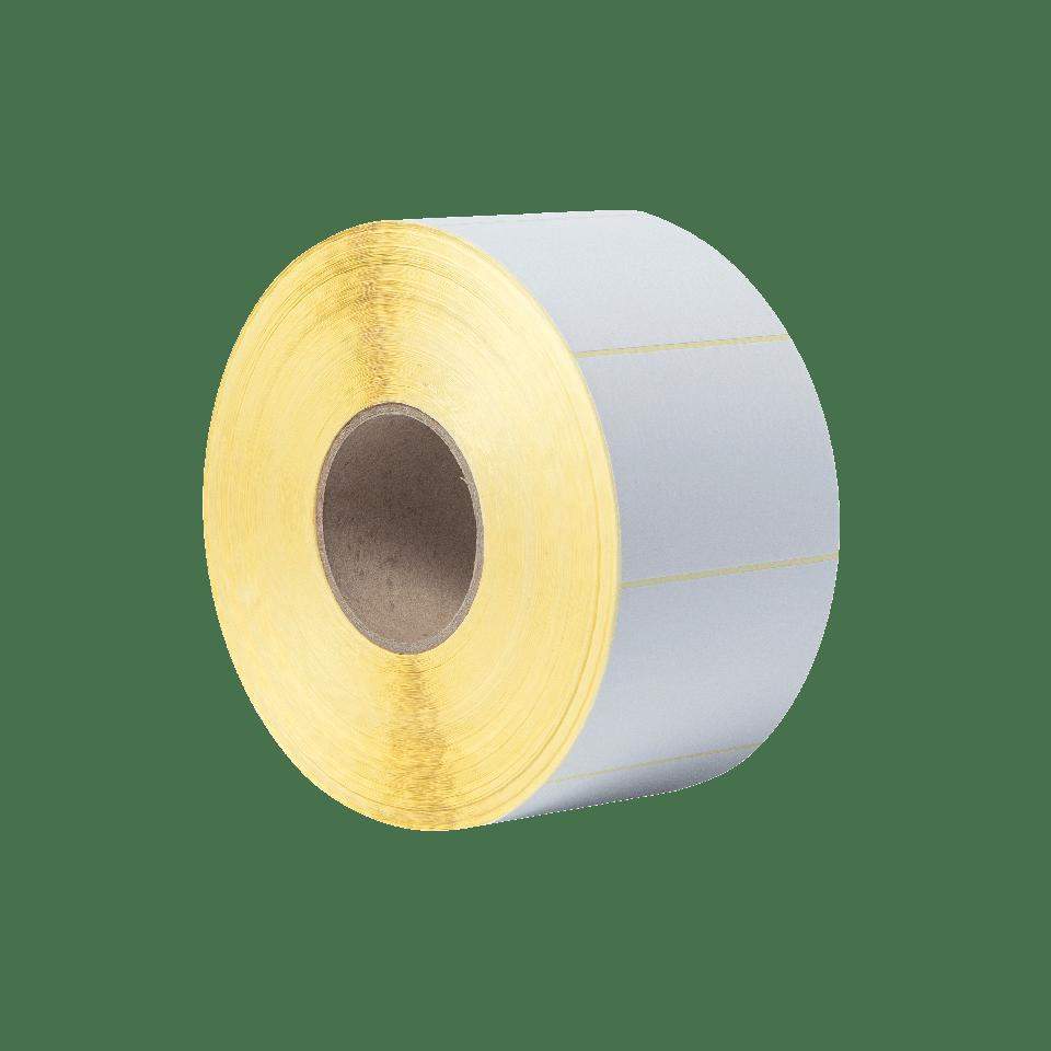 Rouleau d'étiquettes blanches découpées non couchées à transfert thermique BUS-1J074102-203 3