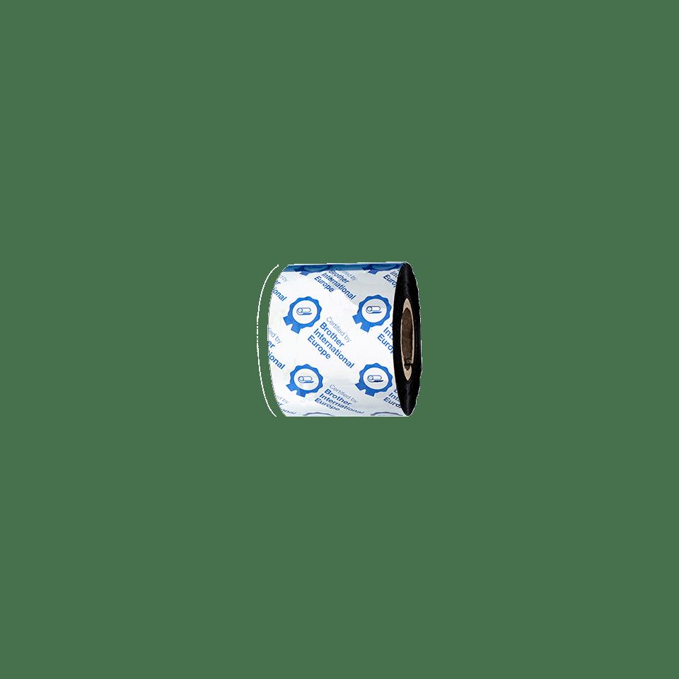 Ruban encreur noir de cire premium à transfert thermique BWP-1D300-060