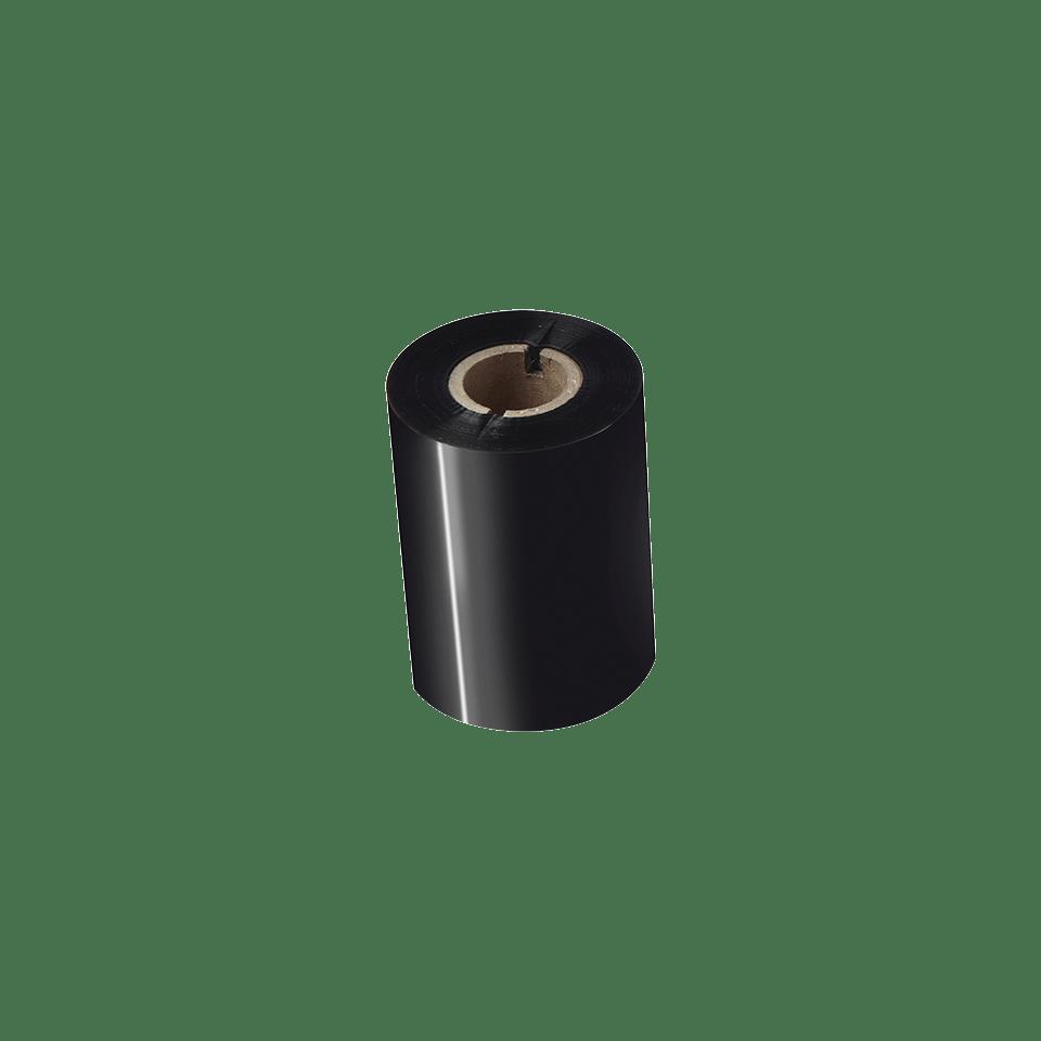 Ruban encreur noir de cire premium à transfert thermique BWP-1D300-080 2