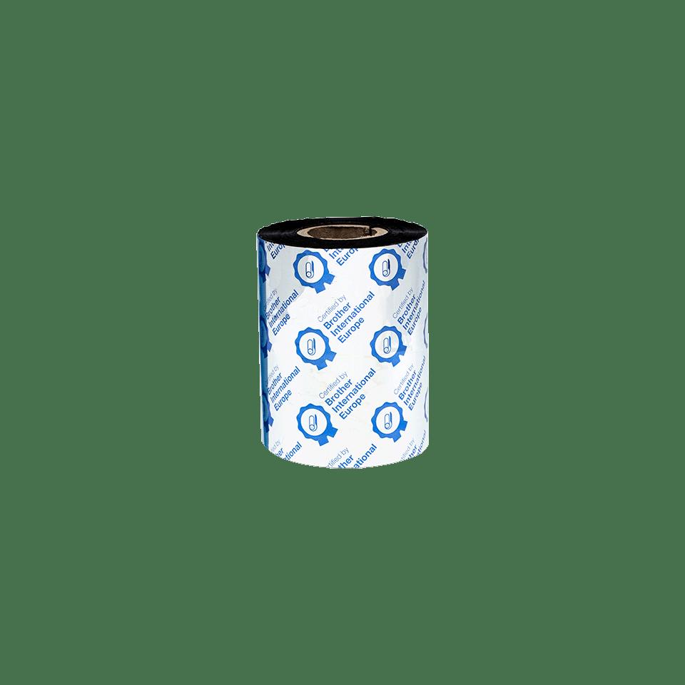 Ruban encreur noir de cire premium à transfert thermique BWP-1D300-080 3
