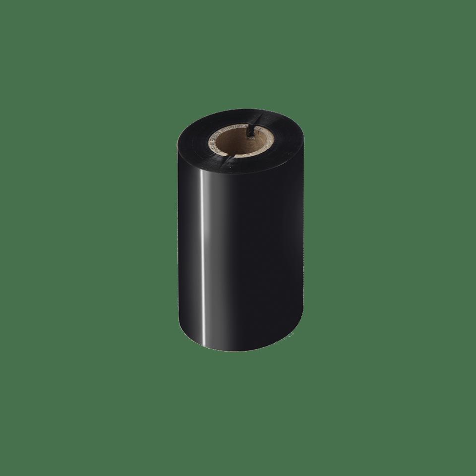 Ruban encreur noir de cire premium à transfert thermique BWP-1D300-110
