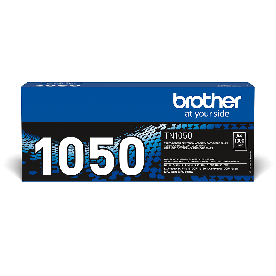 Cartouche de toner TN-1050 Brother originale – Noir