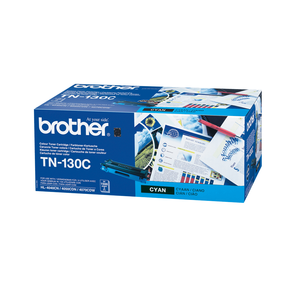 Cartouche de toner TN-130C Brother originale – Cyan