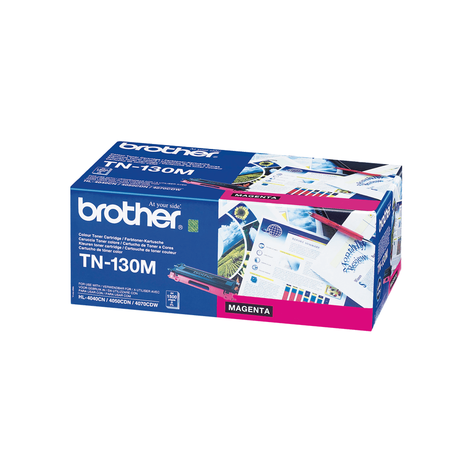 Original TN-130M Tonerkartusche von Brother – Magenta