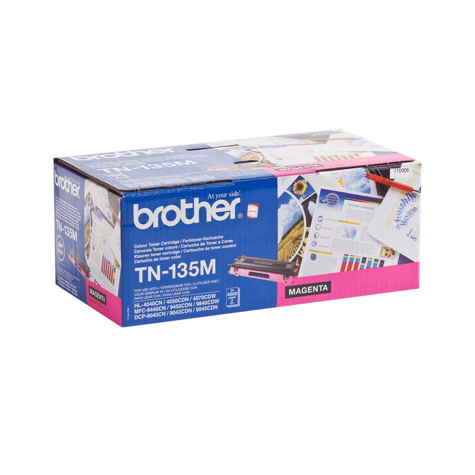 Original TN-135M High Yield Tonerkartusche von Brother – Magenta 2