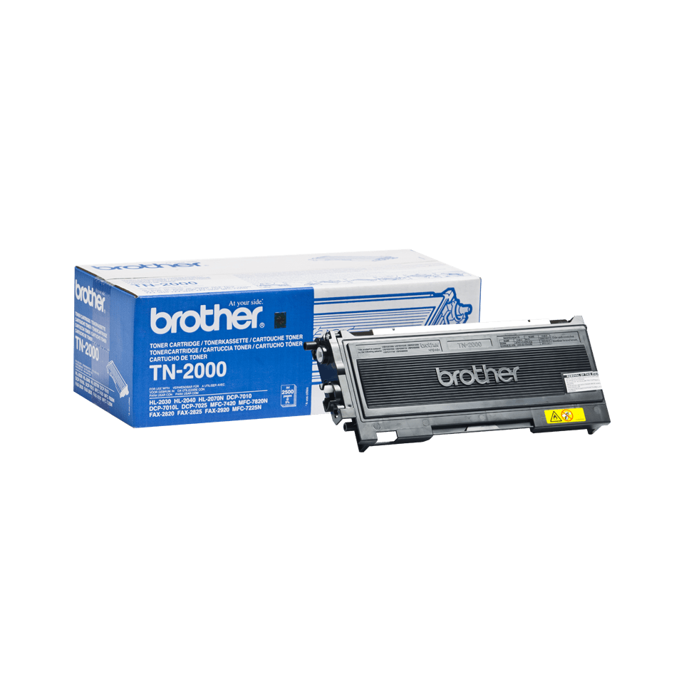 Cartouche de toner TN-2000 Brother originale – Noir