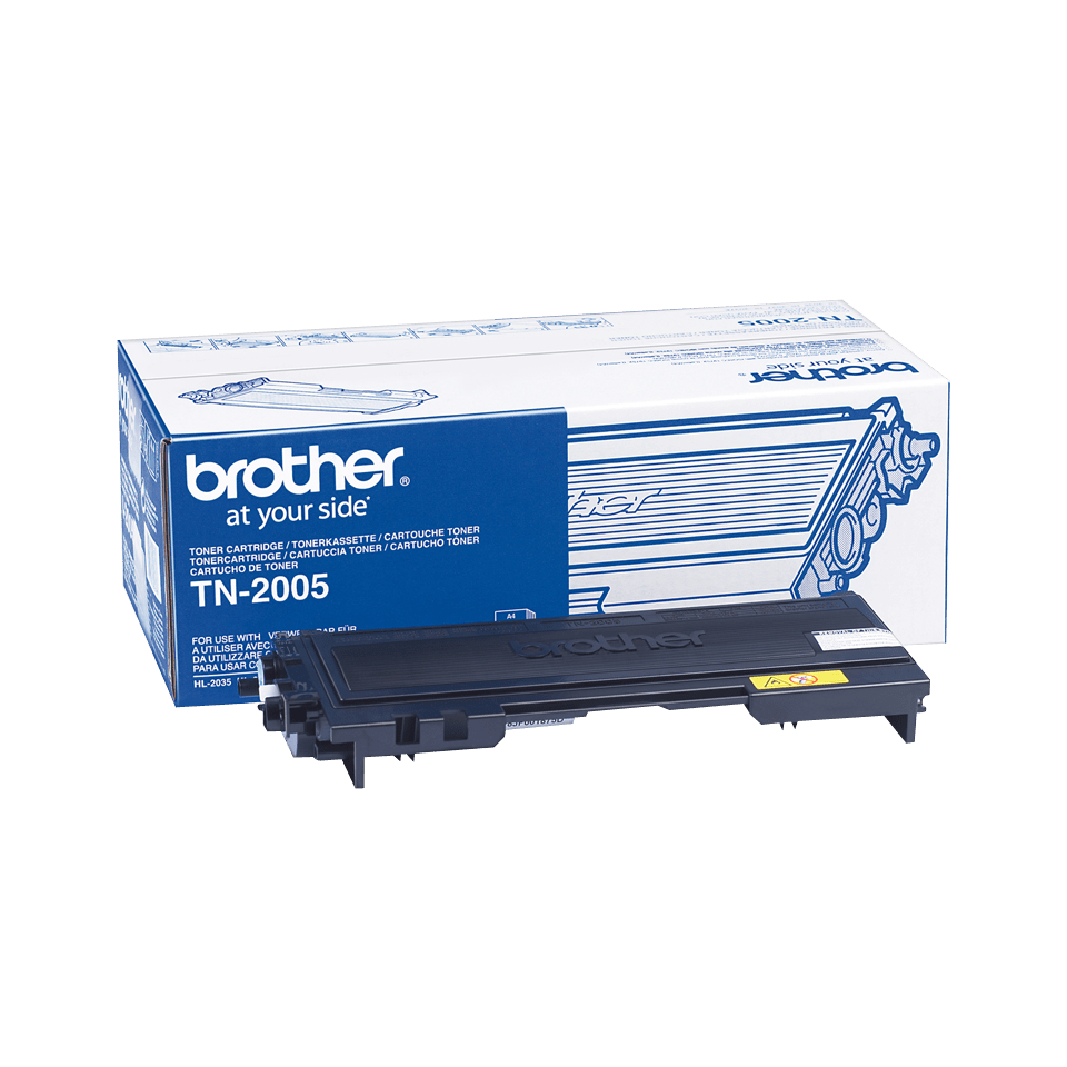 Cartouche de toner TN-2005 Brother originale – Noir