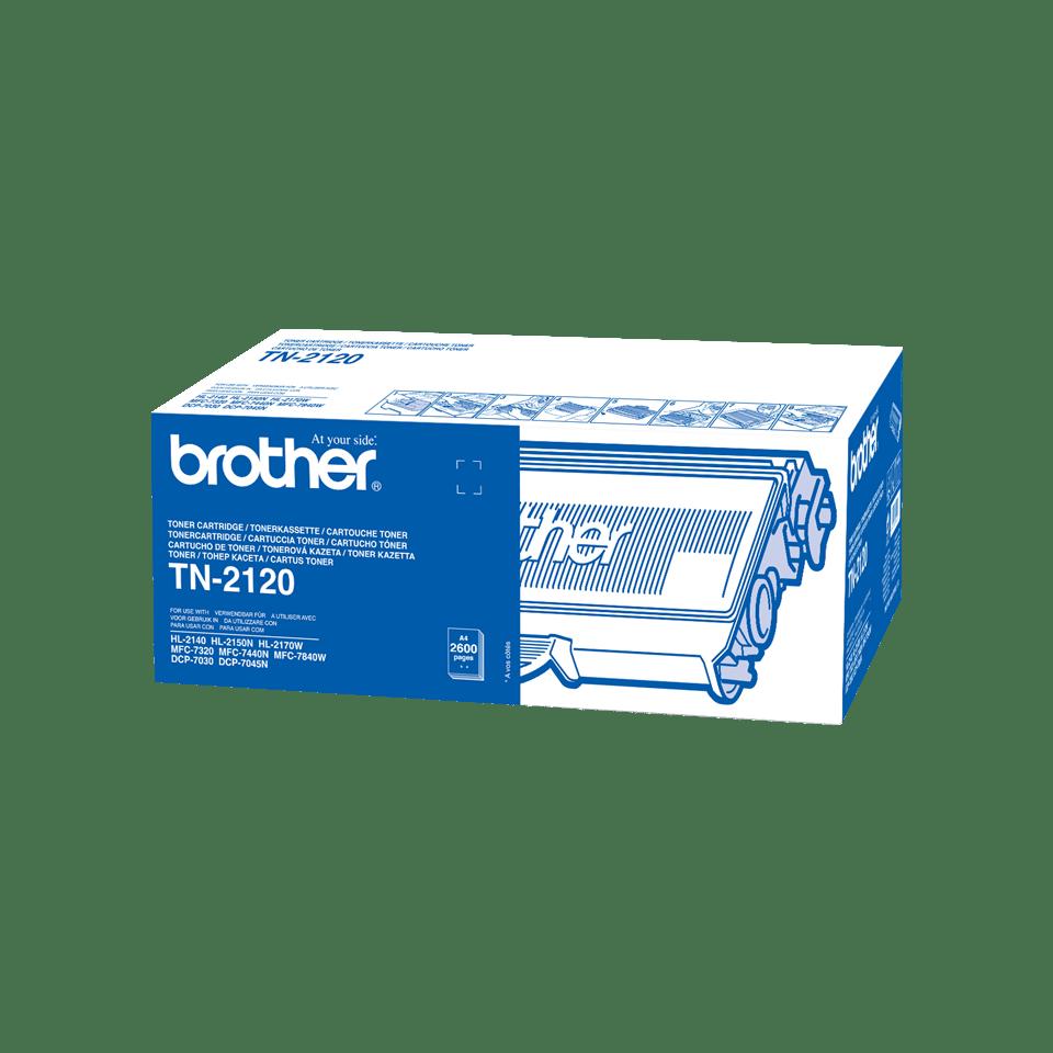 Cartouche de toner TN-2120 Brother originale à haut rendement – Noir
