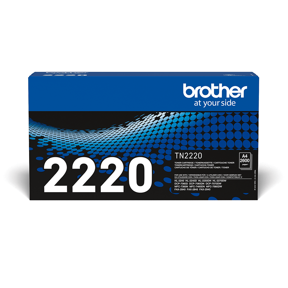 Original TN-2220 High Yield Tonerkartusche von Brother – Schwarz 2