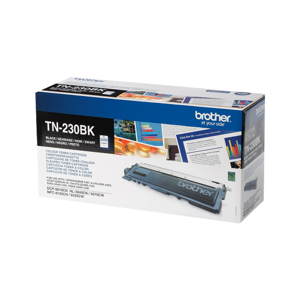 Cartouche de toner TN-230BK Brother originale – Noir