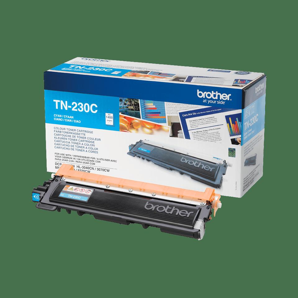 Cartouche de toner TN-230C Brother originale – Cyan