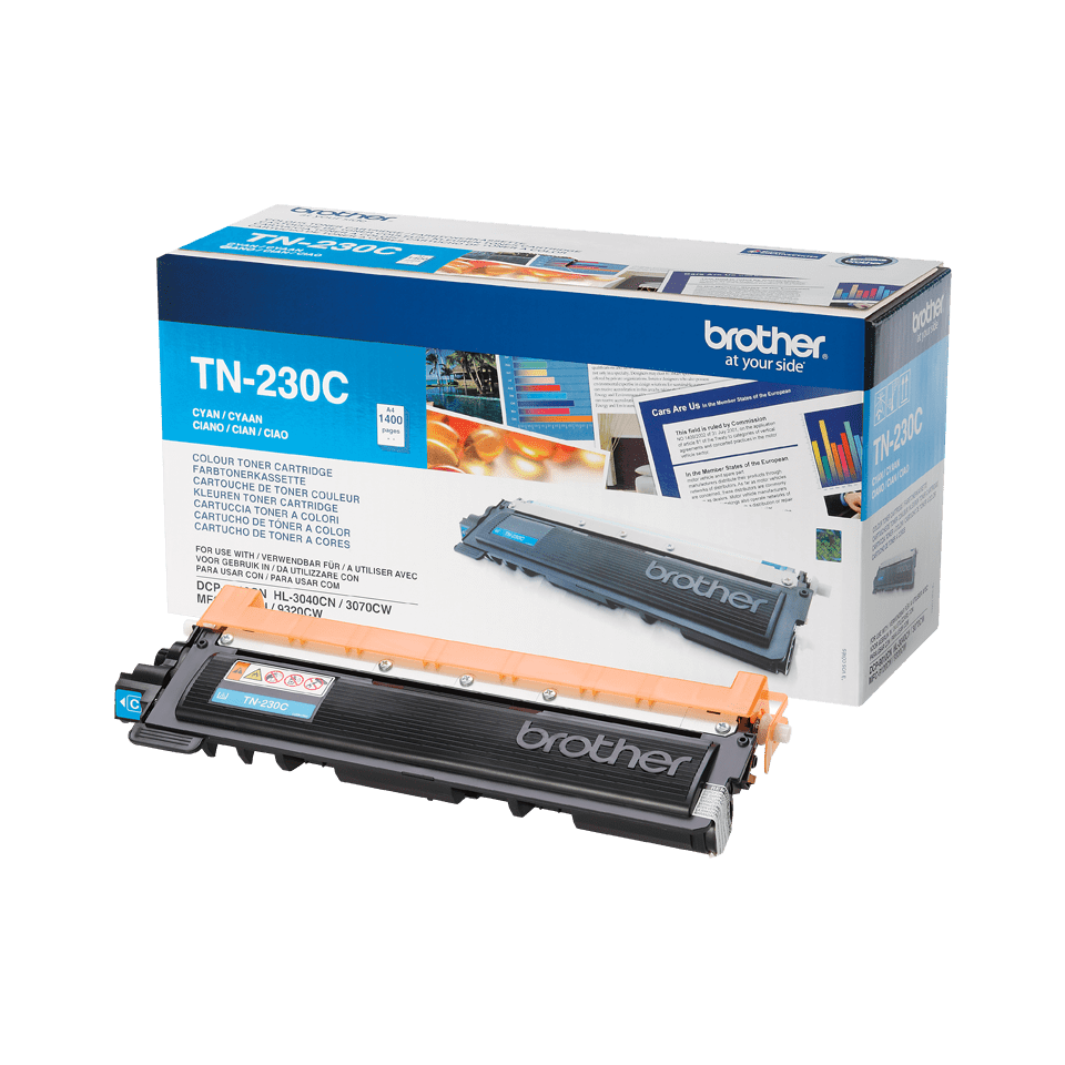 Original TN-230C Tonerkartusche von Brother – Cyan 2