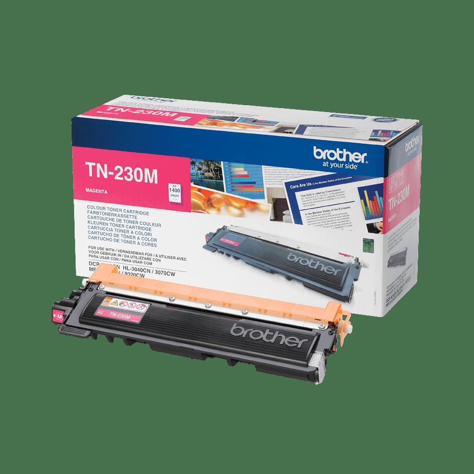 Cartouche de toner TN-230M Brother originale – Magenta