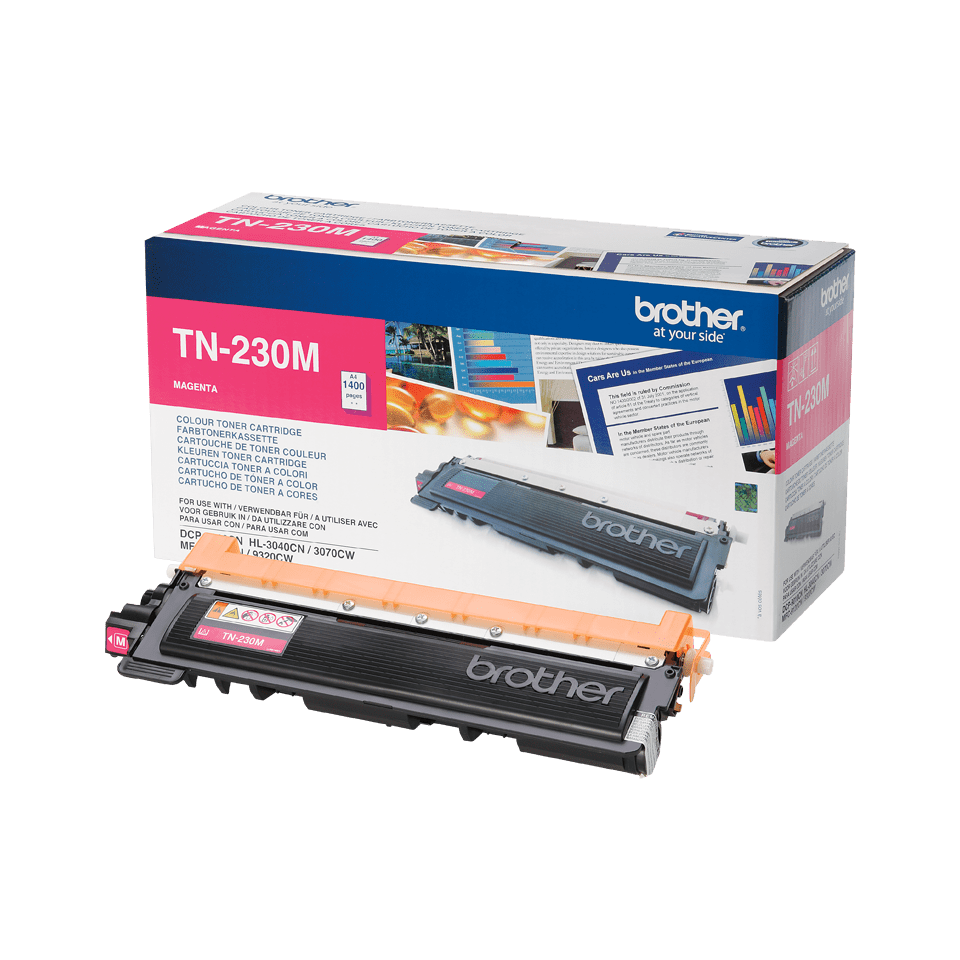 Original TN-230M Tonerkartusche von Brother – Magenta 2
