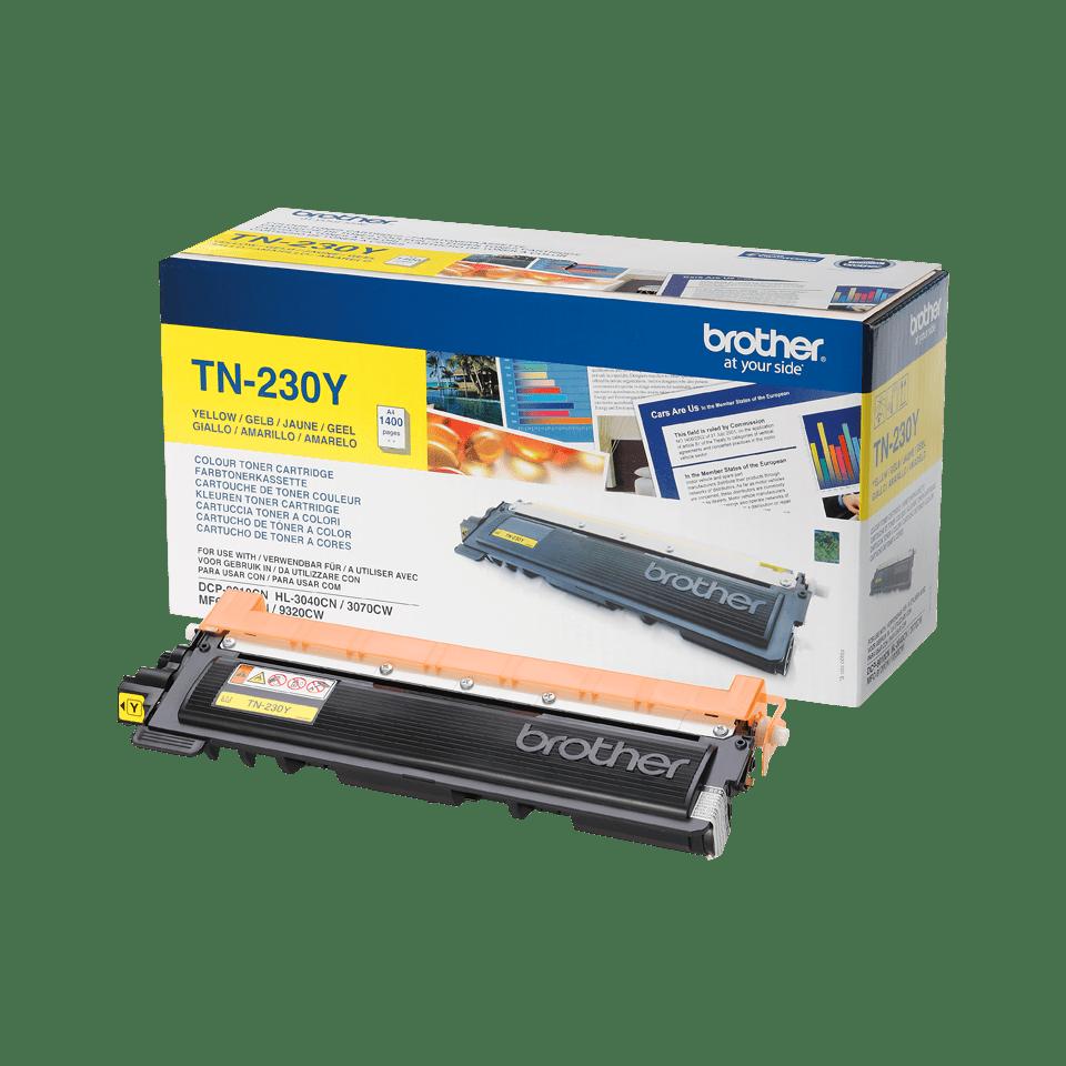 Original TN-230Y Tonerkartusche von Brother – Gelb 2