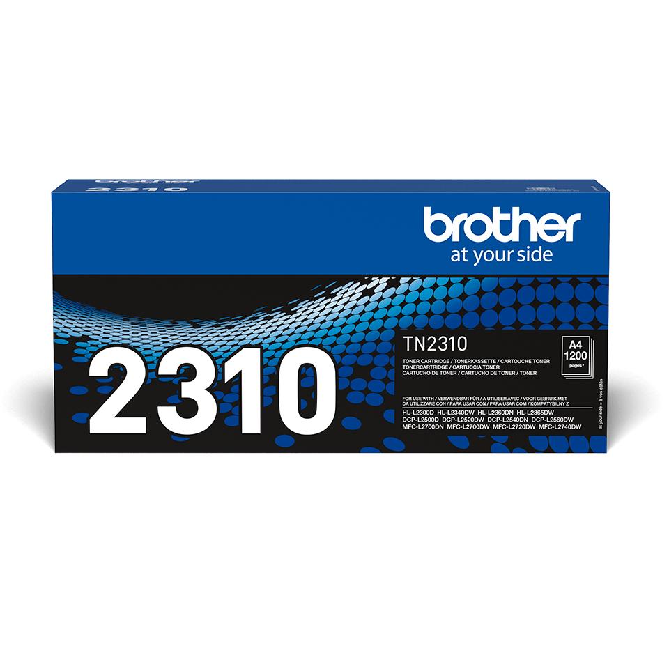 Original TN-2310 Tonerkartusche von Brother – Schwarz