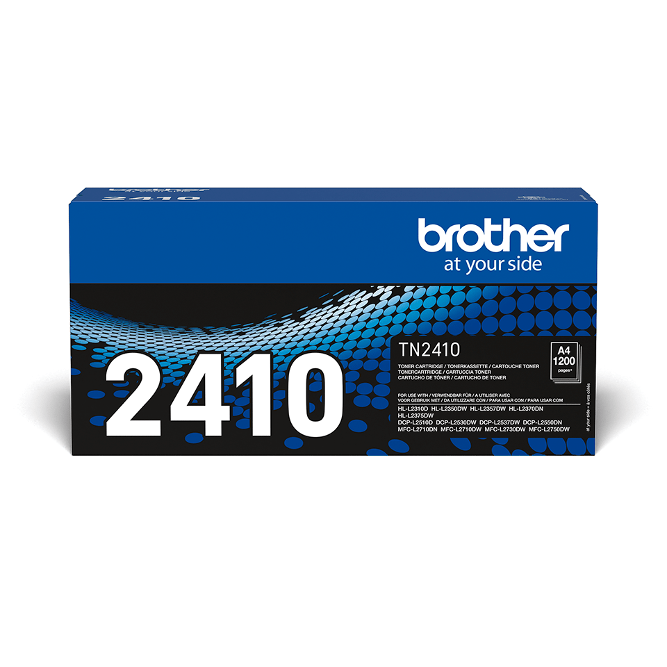 Cartouche de toner Brother authentique TN-2410 - Noir