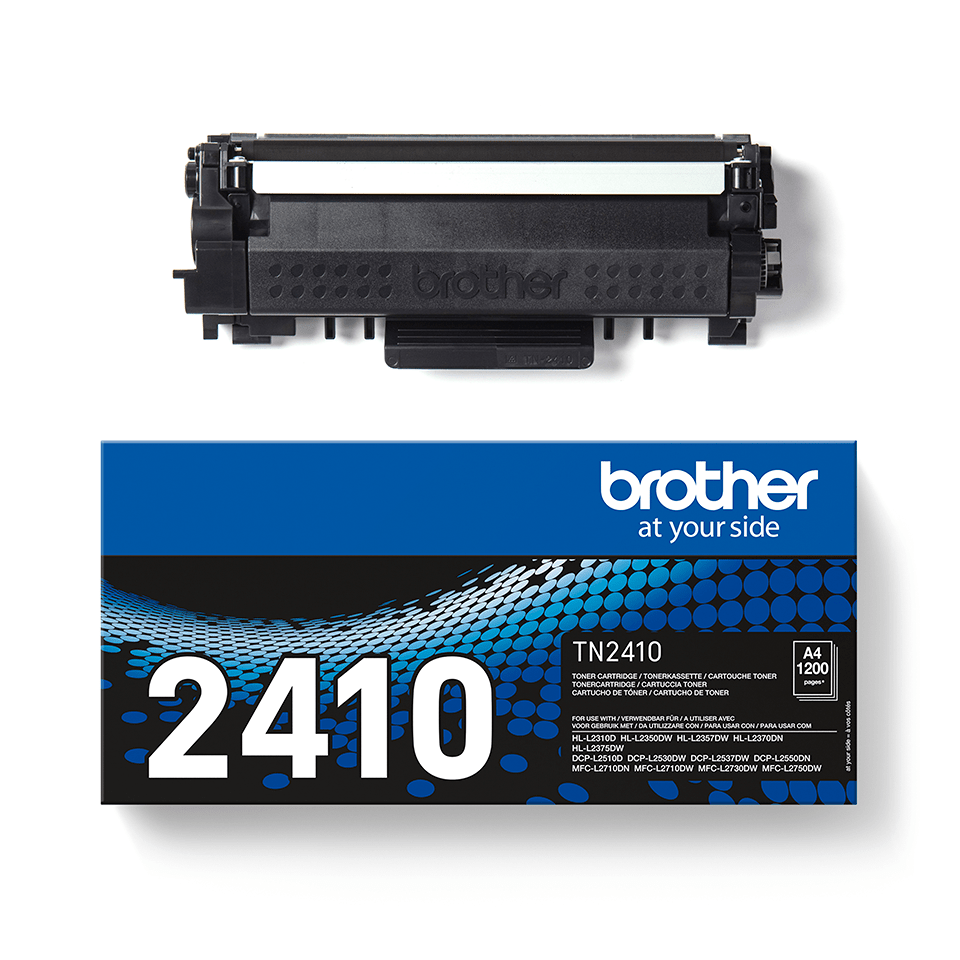 Cartouche de toner Brother authentique TN-2410 - Noir 2