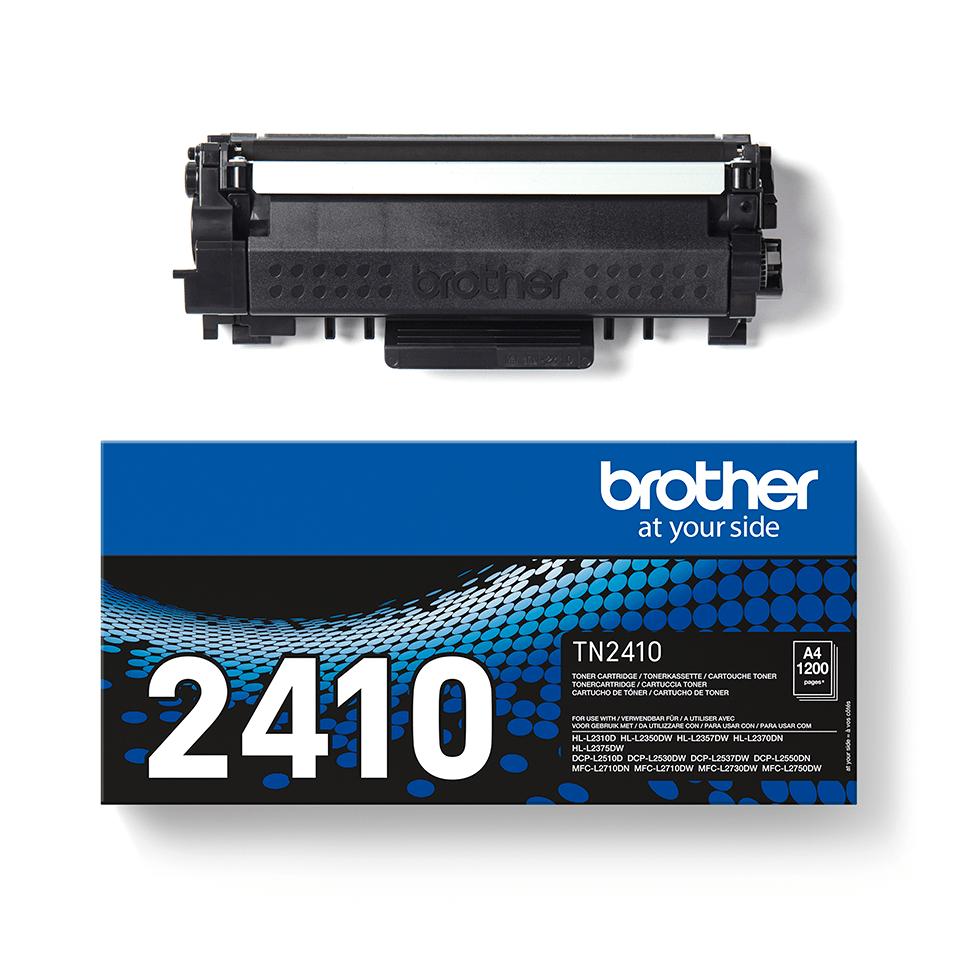 Cartouche de toner Brother authentique TN-2410 - Noir 3