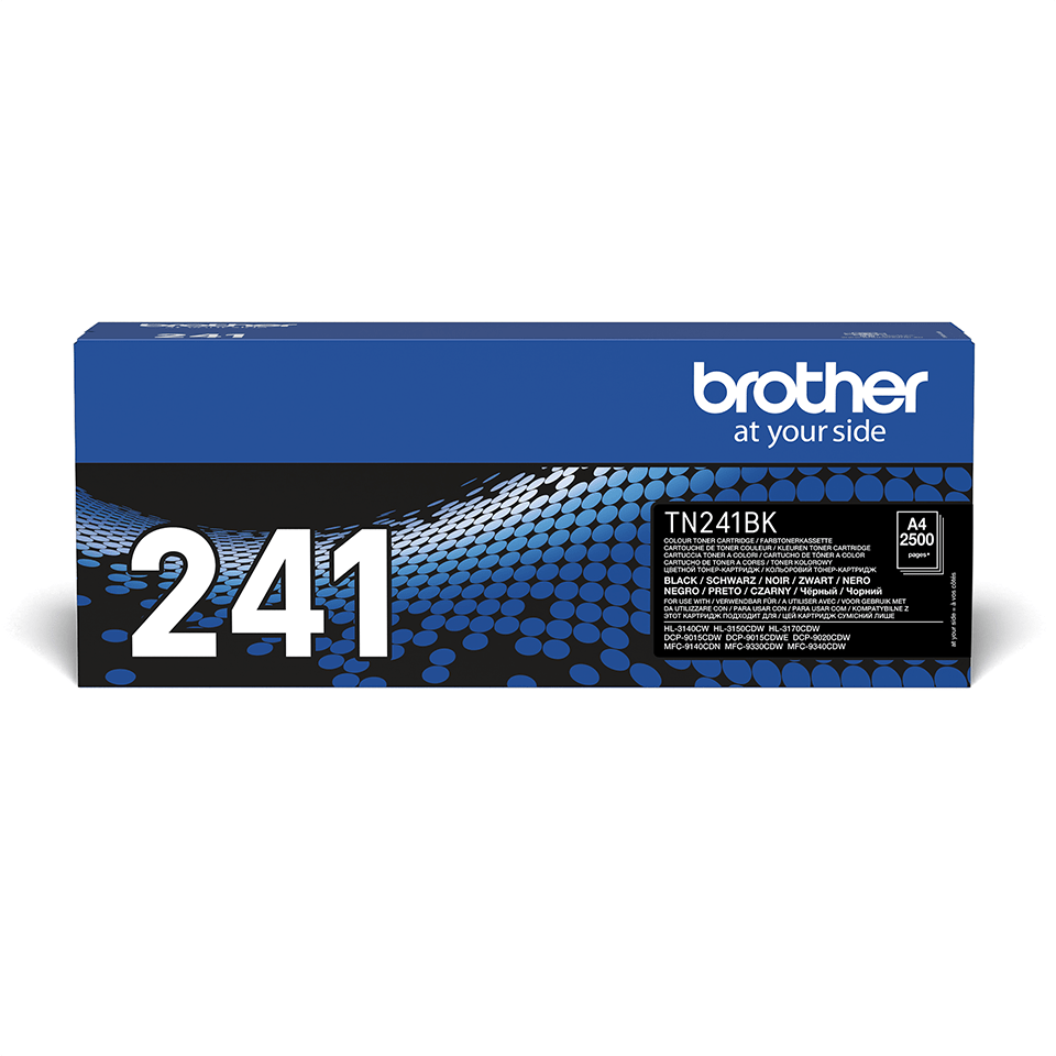 Cartouche de toner TN-241BK Brother originale – Noir