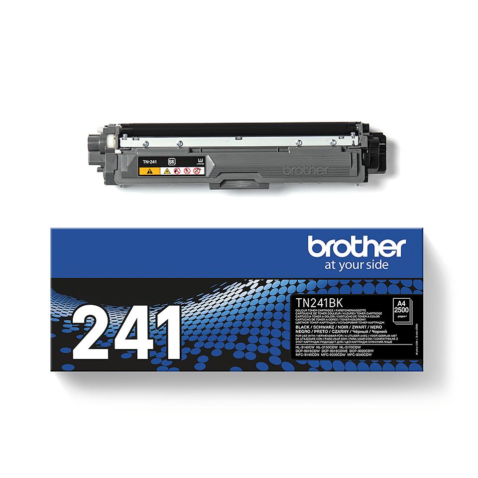 Cartouche de toner TN-241BK Brother originale – Noir 2