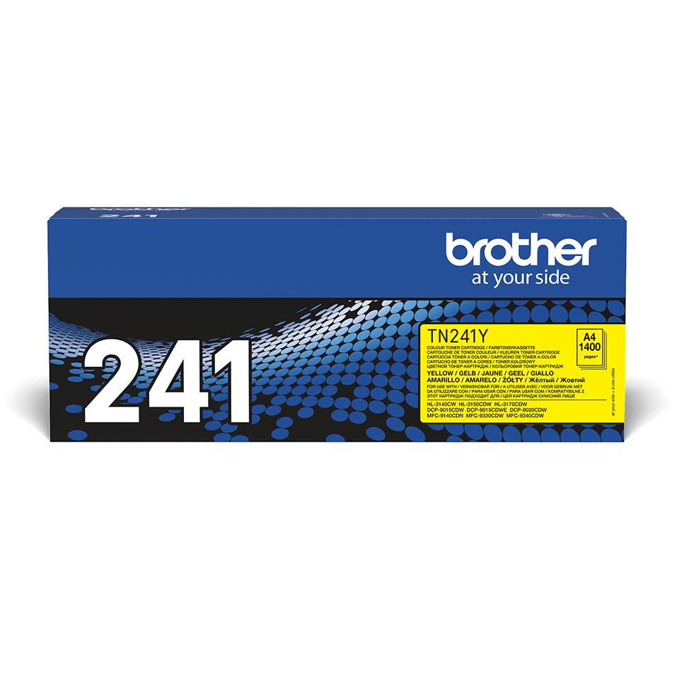 Original TN-241Y Tonerkartusche von Brother – Gelb 2