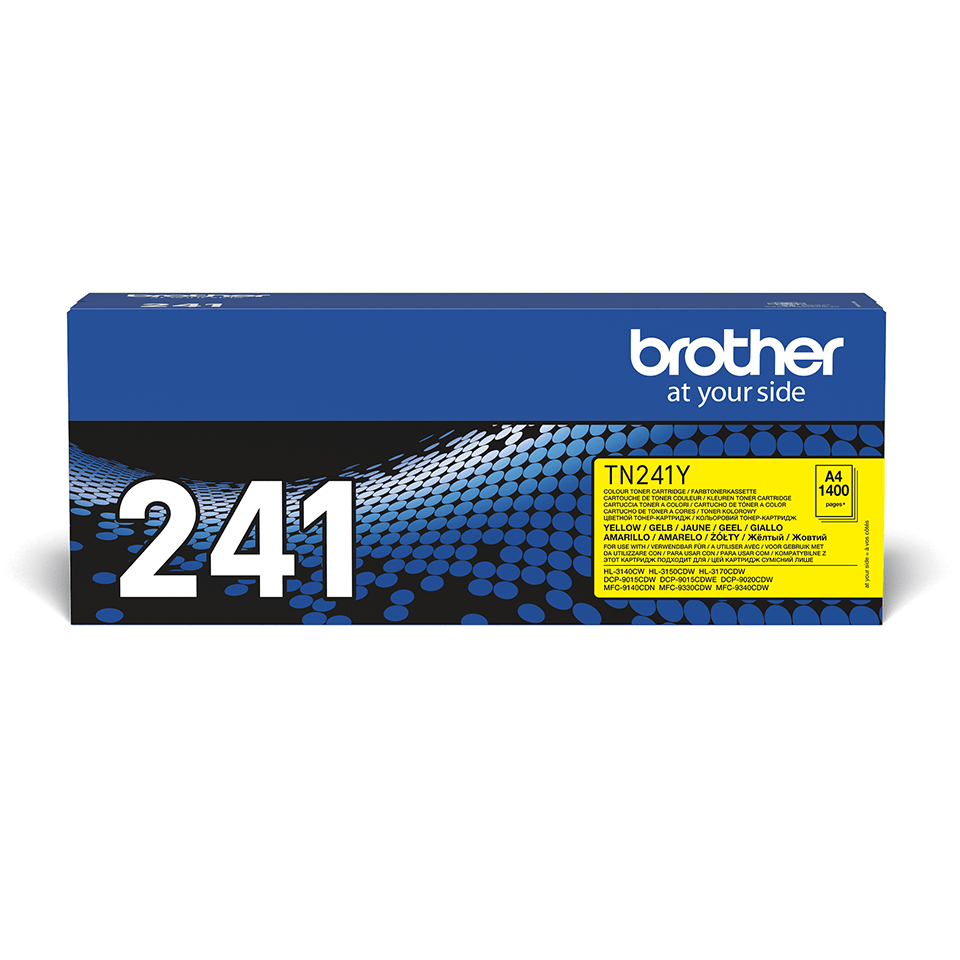 Cartouche de toner TN-241Y Brother originale – Jaune