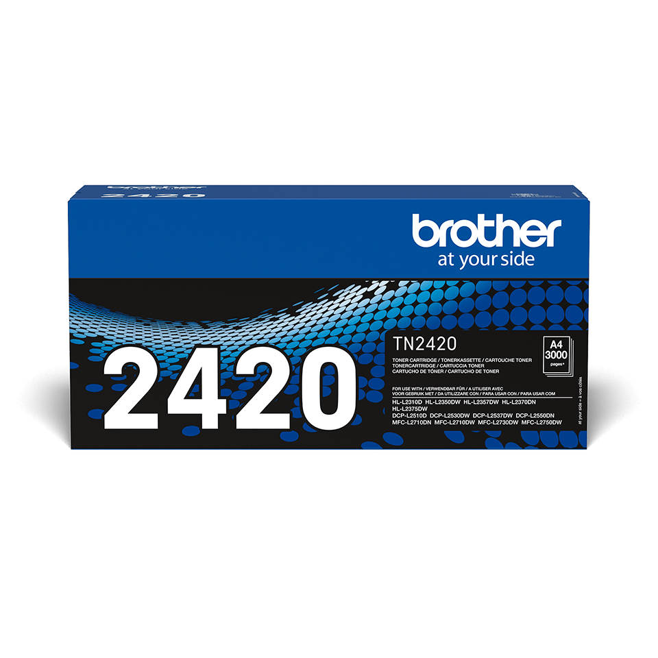 Cartouche de toner Brother authentique TN-2420 - Noir