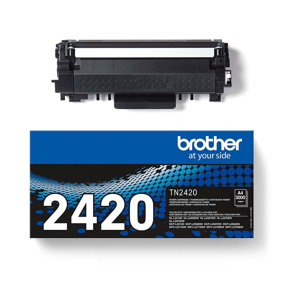 Cartouche de toner Brother authentique TN-2420 - Noir 2