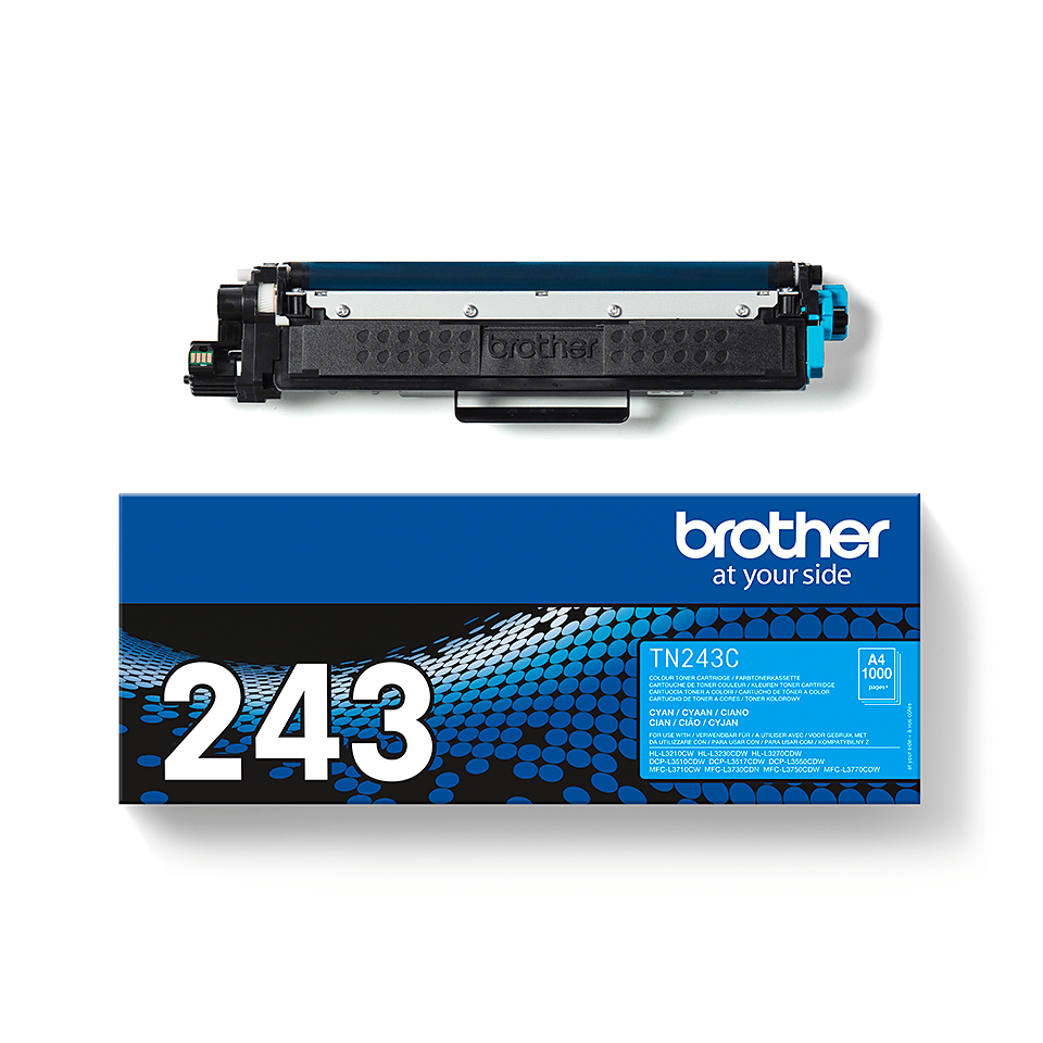 Cartouche de toner TN-243C Brother originale – Cyan 3