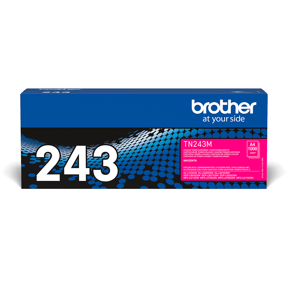 Original Brother TN-243M Tonerkassette – Magenta