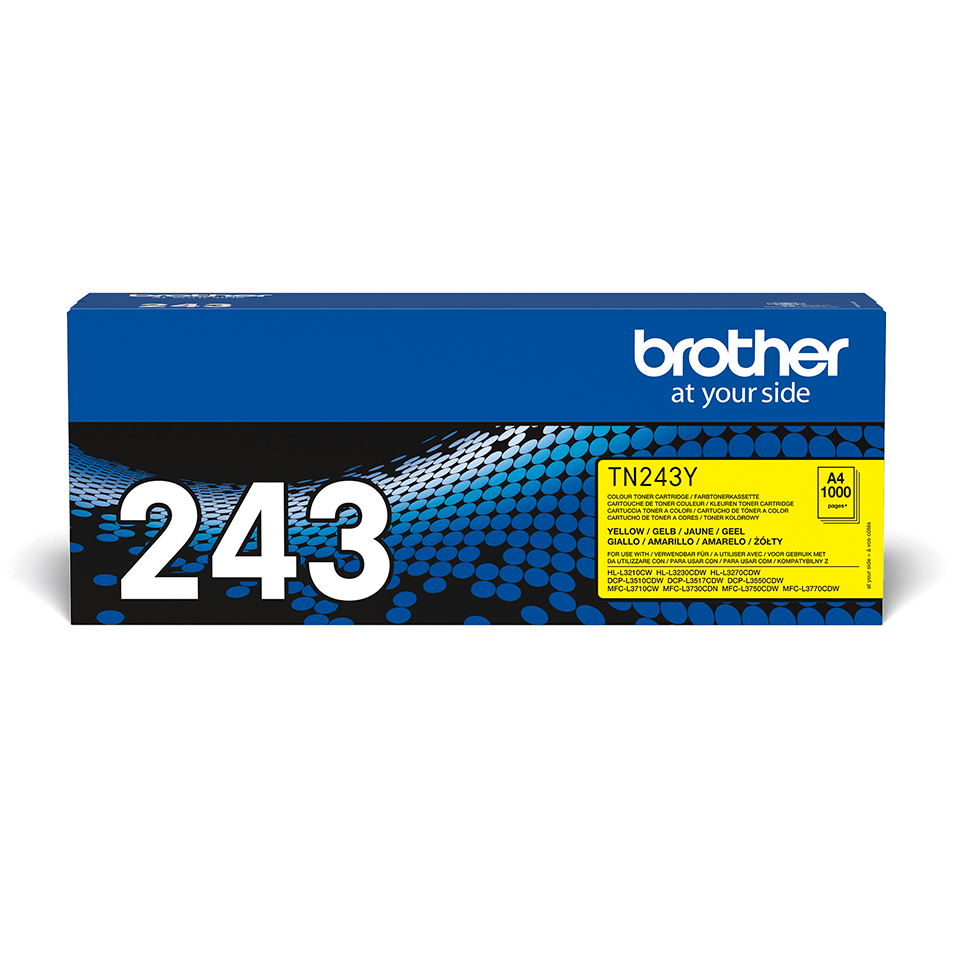 Cartouche de toner TN-243Y Brother originale – Jaune