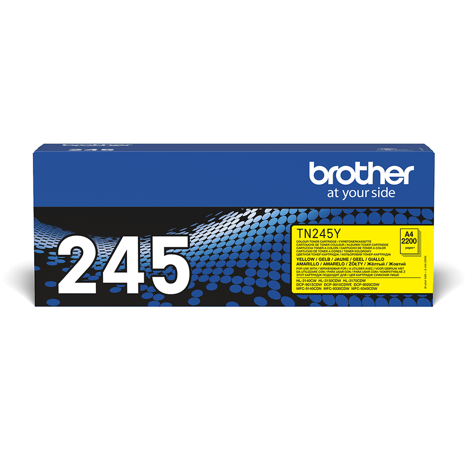 Cartouche de toner TN-245Y Brother originale – Jaune