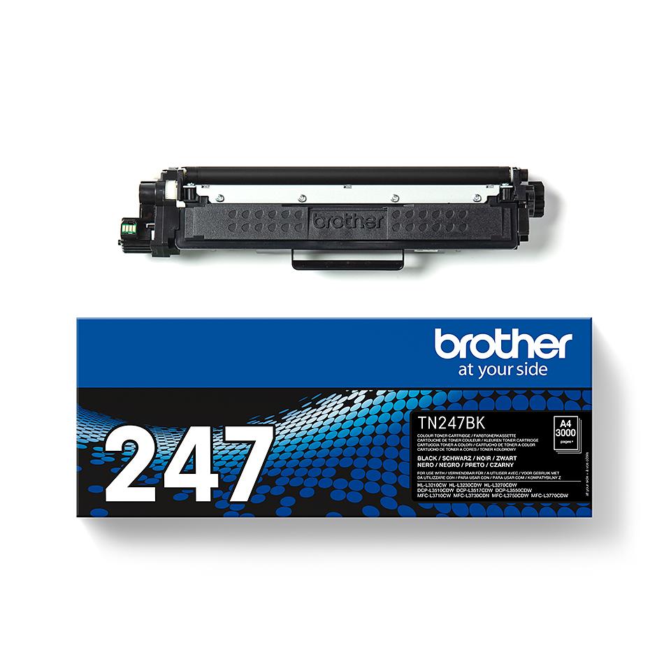 Original Brother TN-247BK Tonerkassette - Schwarz 2