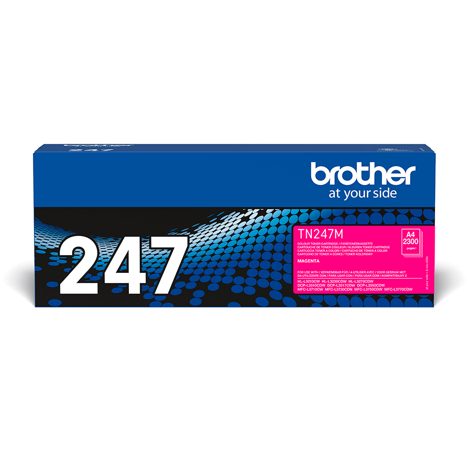 Cartouche de toner TN-247M Brother originale – Magenta