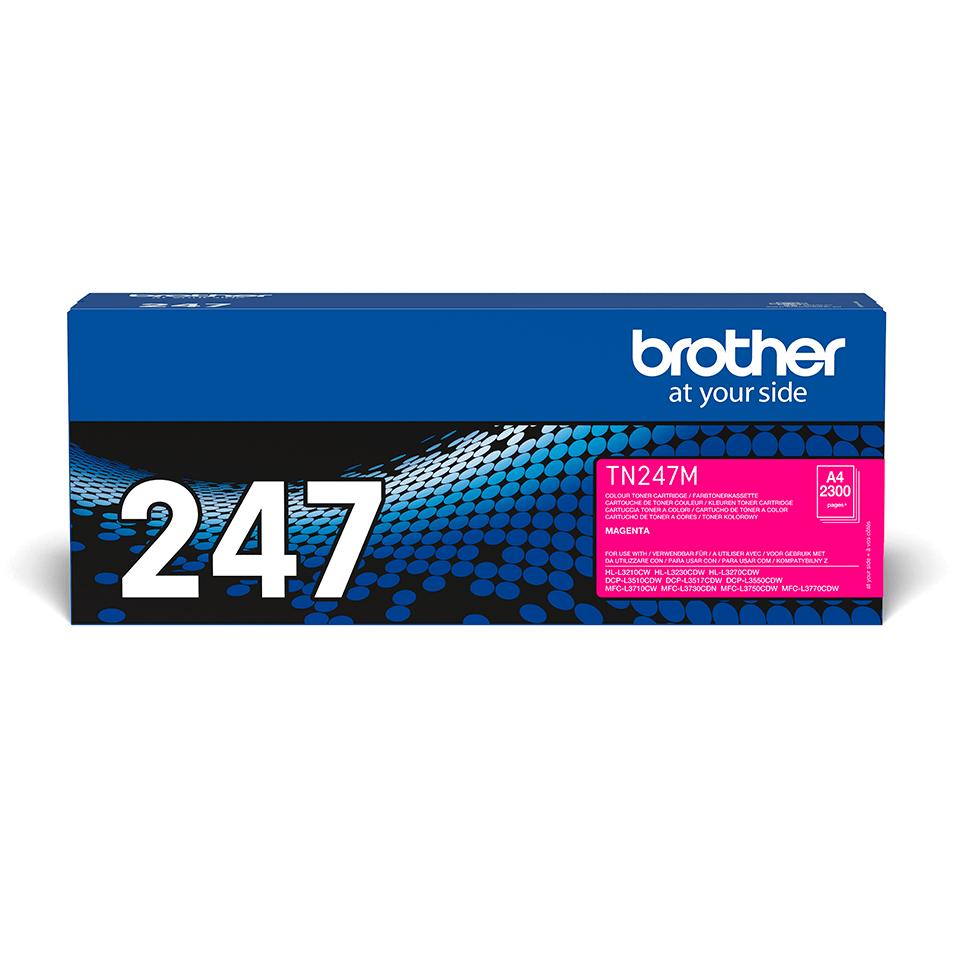 Original Brother TN-247M Tonerkassette - Magenta 2