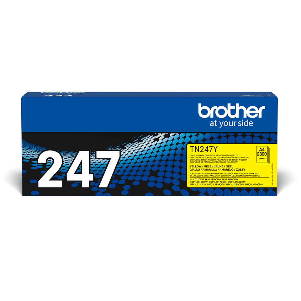 Original Brother TN-247Y Tonerkassette - Gelb 2