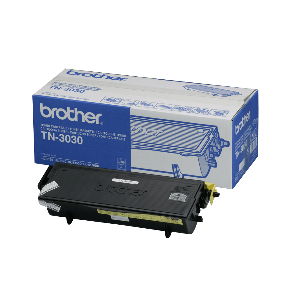 Cartouche de toner TN-3030 Brother originale à haut rendement – Noir